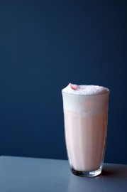 Strawberry Ramos Gin Fizz Darnley's View